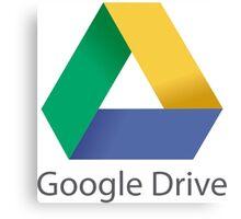 Google Drive Canvas Print