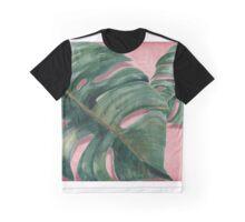 monstera leaf  Graphic T-Shirt