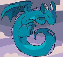 Spiral dragon by Clair C
