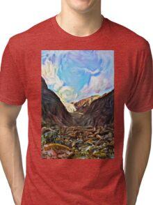 Deep Glacier Tri-blend T-Shirt