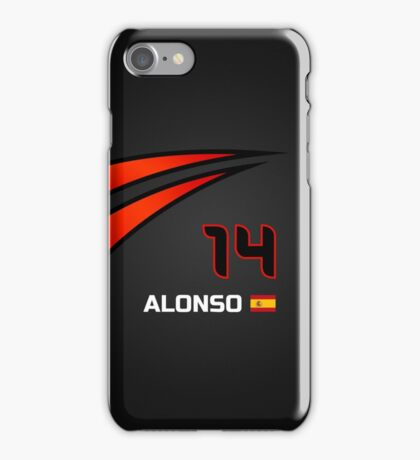 F1 2015 - #14 Alonso [revised] iPhone Case/Skin