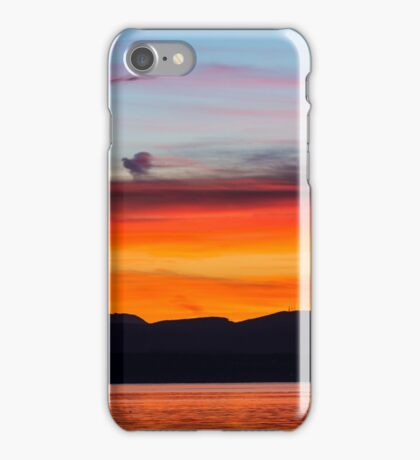 Northern Olympic Sunset iPhone Case/Skin