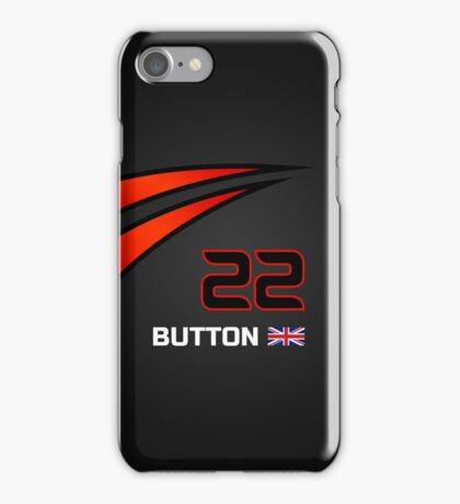 F1 2015 - #22 Button [revised] iPhone Case/Skin