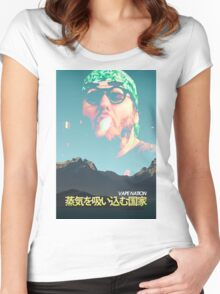 Vape Nation Movie Poster Women's Fitted Scoop T-Shirt
