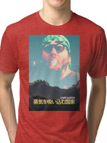Vape Nation Movie Poster Tri-blend T-Shirt