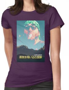 Vape Nation Movie Poster Womens Fitted T-Shirt