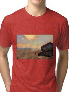 Mars Sunset Tri-blend T-Shirt