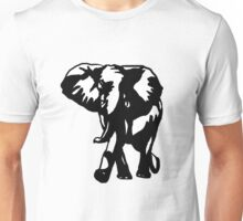 elephant-white Unisex T-Shirt