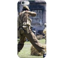 World War 2 Battle Reenactment iPhone Case/Skin