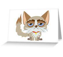Grumpy Cat Greeting Card