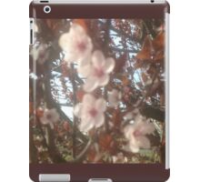 Spring Pink Blossoms iPad Case/Skin