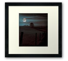 Moon Tor Framed Print