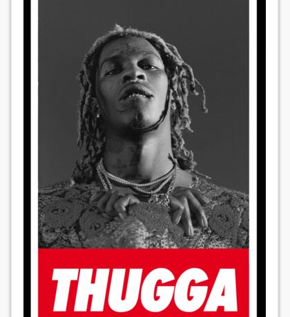 Young thug [4K] Sticker