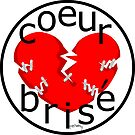 coeur brise logo by telberry