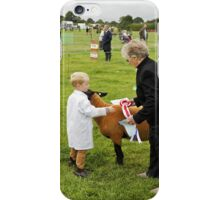 Agricultural Show sheep competition iPhone Case/Skin