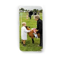 Agricultural Show sheep competition Samsung Galaxy Case/Skin