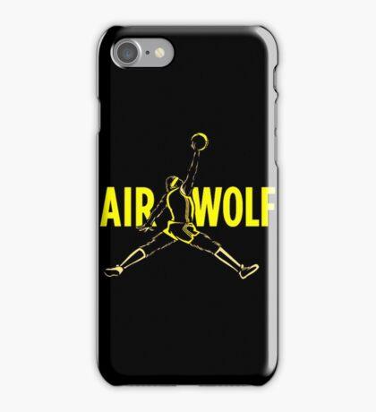 Air Wolf iPhone Case/Skin