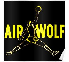 Air Wolf Poster