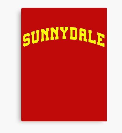 SUNNYDALE - Buffy Movie Canvas Print