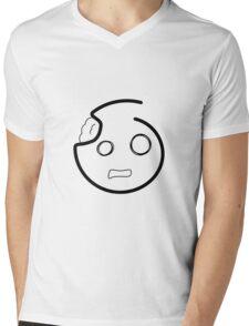 smiley - zombie Mens V-Neck T-Shirt