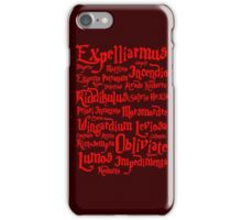 Expelliarmus Spell Quote iPhone Case/Skin