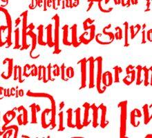 Expelliarmus Spell Quote Sticker