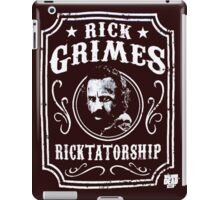Rick Grimes Ricktatorship iPad Case/Skin