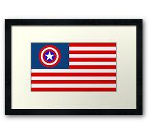 Mr America  Framed Print