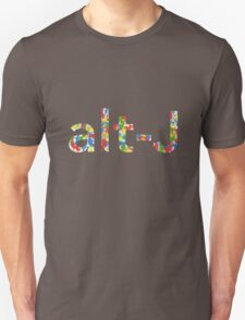 Alt J Paint Splatter Unisex T-Shirt