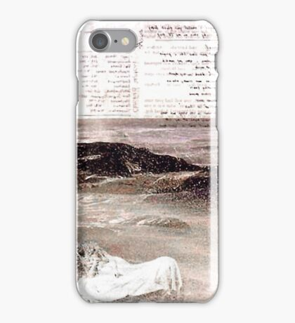 Waiting for the Ocean to Save you from the Waves iPhone Case/Skin