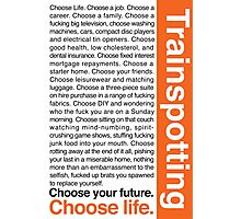 Choose life. Photographic Print