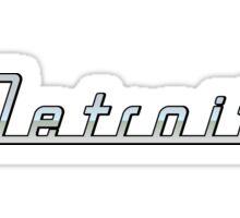 Detroit Sticker