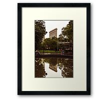 Mirror Mirror In the Park... Framed Print