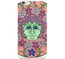 Mandala Face Goofy Green Witch iPhone Case/Skin