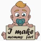 I make mommy fart illustration by simplydikka