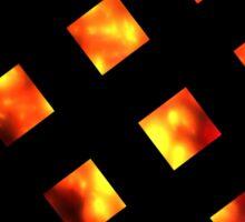Sun Cubes Sticker