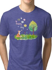 Oh happy day Tri-blend T-Shirt