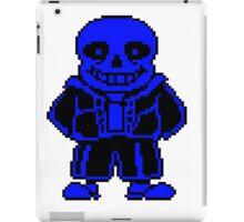 Blue Sans iPad Case/Skin