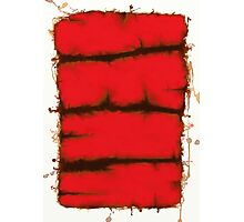 Red element Photographic Print