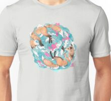 falling foxes Unisex T-Shirt