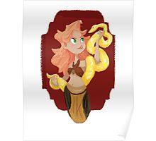 Circus- Snake Charmer Poster