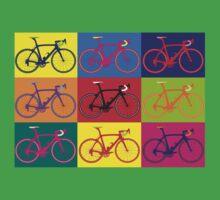 Bike Andy Warhol Pop Art One Piece - Short Sleeve