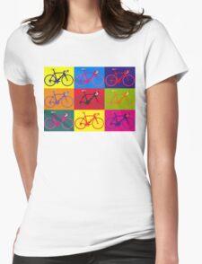 Bike Andy Warhol Pop Art Womens Fitted T-Shirt