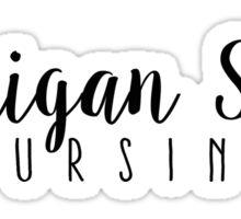 Michigan State - Nursing Sticker