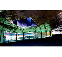 The Crumpled Building Barcelona Photographic Print
