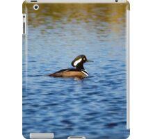 Hooded Merganser Drake iPad Case/Skin