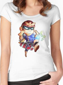 YES! Women's Fitted Scoop T-Shirt