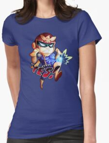 YES! Womens Fitted T-Shirt