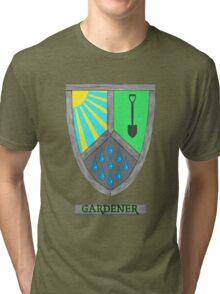 Gardening Heraldry Tri-blend T-Shirt