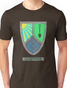 Gardening Heraldry Unisex T-Shirt